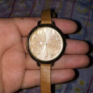 Wrap around watch with sparkle face